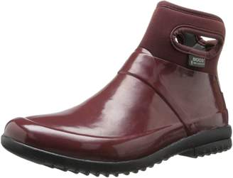 Bogs Muck Boots Womens Seattle Solid Mid WP Rubber 8 71555