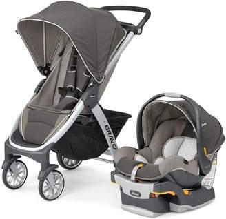 Chicco Bravo Trio Single Stroller & Car Seat Travel System