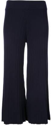 Nomia cropped style culotte trousers