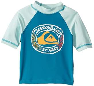 Quiksilver Bubble Dream Short Sleeve Rashguard (Toddler/Little Kids)
