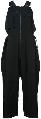 Yohji Yamamoto oversized work overalls
