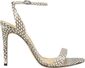 Alexandre Birman Willow Snake Print Sandals