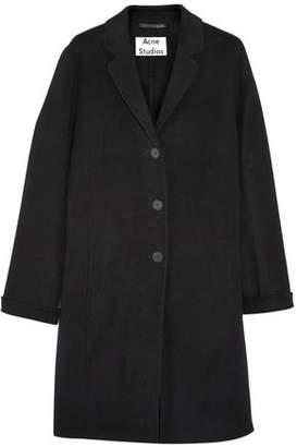 Acne Studios Elsa Doublé Wool And Cashmere-Blend Coat