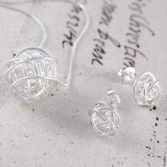 Otis Jaxon Silver Jewellery Nest Silver Jewellery Set