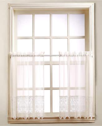 "Lichtenberg Joy Lace 60"" x 24"" Pair of Tier Curtains"