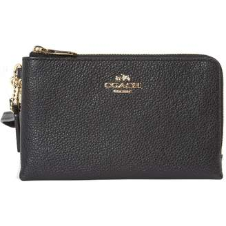 Coach Leather Clutch Bag