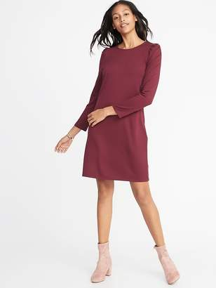 Old Navy Ponte-Knit Shift Dress for Women