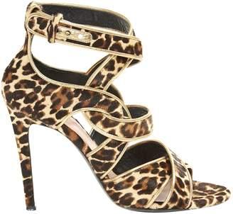 Barbara Bui Pony-style calfskin sandals