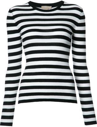 Michael Kors striped jumper $595 thestylecure.com