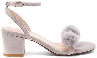 Raye x REVOLVE Amara Mink Fur Sandal