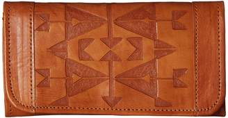 American West Crossed Arrows Trifold Wallet Wallet Handbags