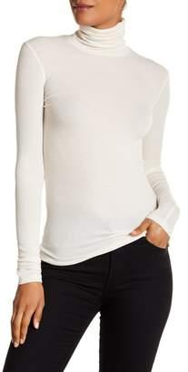 ATM Anthony Thomas Melillo Ribbed Turtleneck Sweater