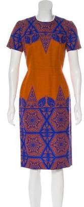 Jonathan Saunders Printed Midi Dress w/ Tags