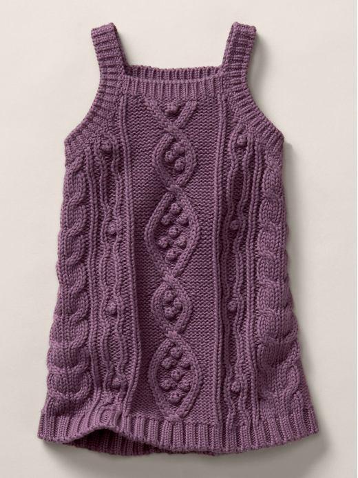 Stella McCartney cable knit tank dress