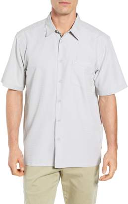 Quiksilver Waterman Collection Centinela Regular Fit Camp Shirt
