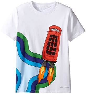 Burberry Kids - Rocket Phone Tee Boy's T Shirt $90 thestylecure.com