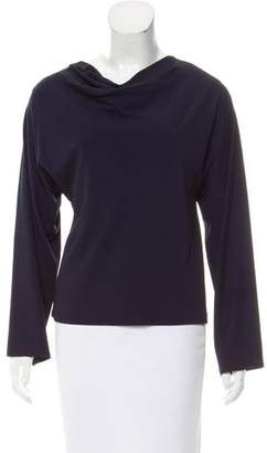 Shamask Cowl Neck Long Sleeve Top