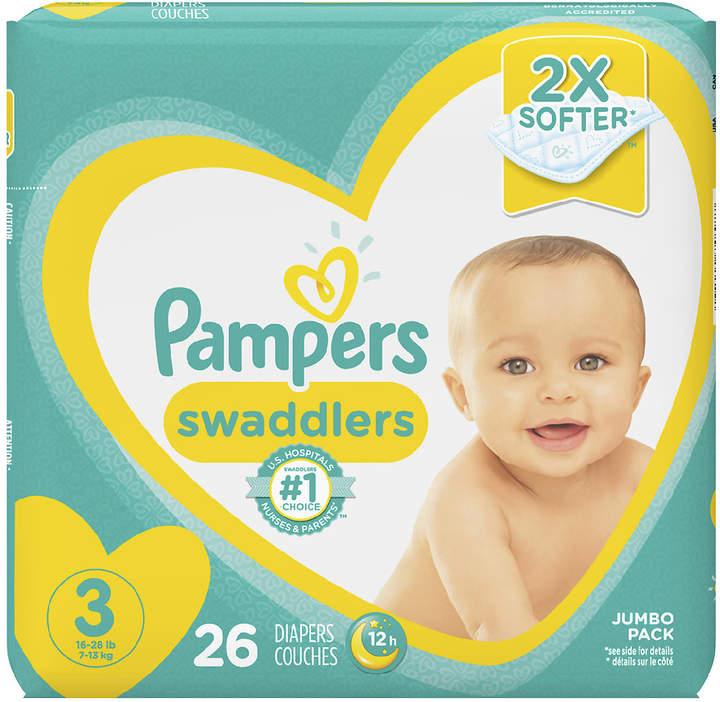 Pampers Pampers Swaddlers Diapers Size 3