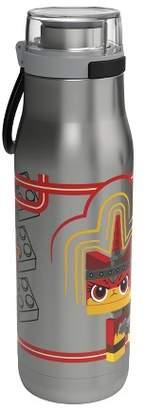 Zak Designs LEGO 20oz Stainless Steel Water Bottle Silver/Red