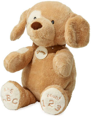 Gund ABC 123 Spunky Dog Stuffed Animal, 14""