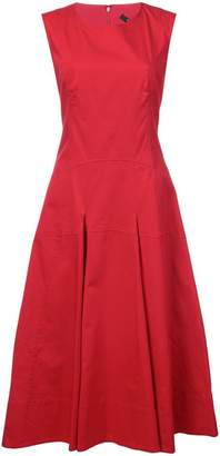 Derek Lam Sleeveless Dress with Flare Skirt