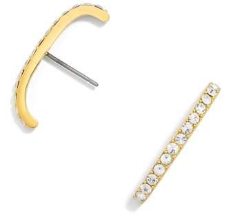 BaubleBar Elle Crystal Stud Earrings