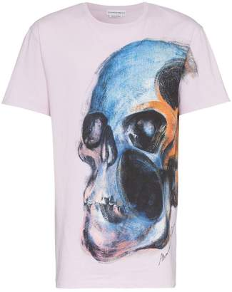 Alexander McQueen large skull print graphic T-shirt