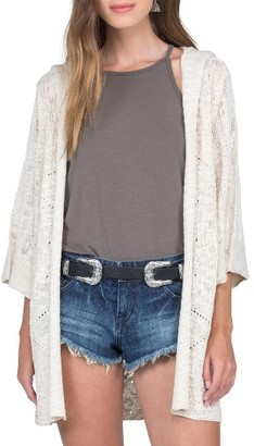 Women's Volcom By The Ocean Hooded Cardigan $69.50 thestylecure.com