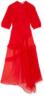 Preen by Thornton Bregazzi Reese Dress with Red Slip