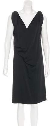 Balenciaga Draped Shift Dress w/ Tags