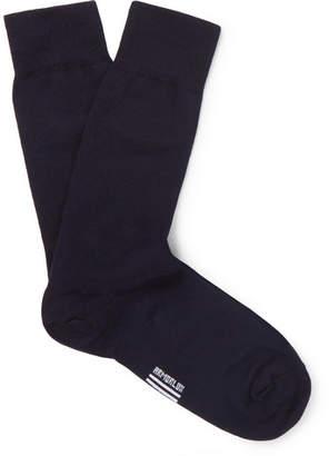 Armor Lux Stretch Cotton-Blend Socks