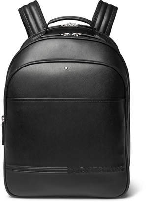 Montblanc Extreme Cross-Grain Leather Backpack