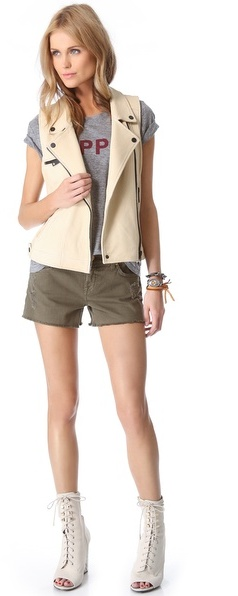 7 For All Mankind Relaxed Cutoff Shorts