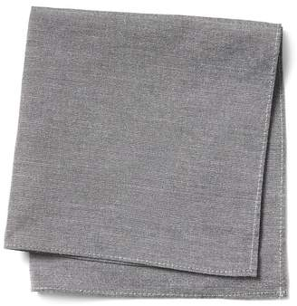 Banana Republic Basic Chambray Pocket Square
