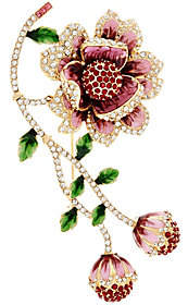 Joan Rivers Classics Collection Joan Rivers Limited Edition Blossoming FlowerBrooch