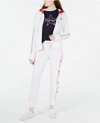 Tommy Hilfiger Star-Trim Zip Jacket