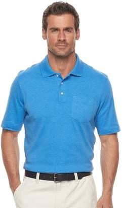 Croft & Barrow Men's Classic-Fit Easy-Care Interlock Pocket Polo