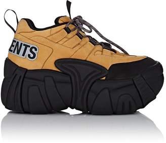 Vetements Men's Nubuck Platform Sneakers