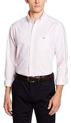"Gant Men's Oxford Pinstripe Regular Fit Casual Shirt,Manufacturer Size: Medium (15/16 "" neck)"