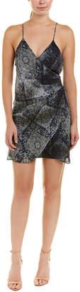 Haute Hippie Cassie Silk Mini Dress