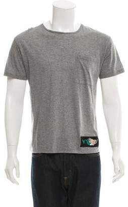 Valentino Embroidered Short Sleeve T-Shirt w/ Tags