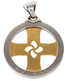 Bvlgari Tondo Cross Pendant