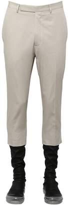 Rick Owens Ripstop Cotton Cropped Pants