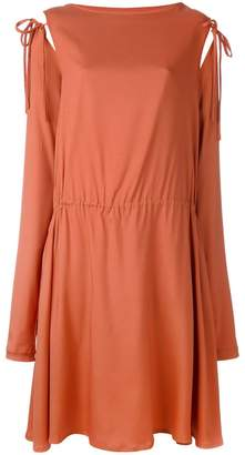 Societe Anonyme tied sleeve dress