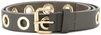 B-Low the Belt eyelet detail belt