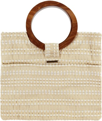 O'Neill Kate Wood Handle Jacquard Bag