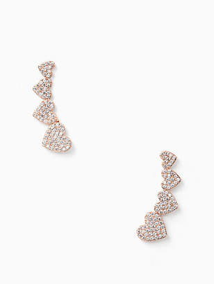 Kate Spade Yours truly ear pins