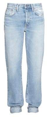 Acne Studios Five-Pocket Cuffed Jeans