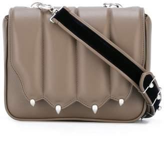 Marco De Vincenzo strap studded crossbody bag