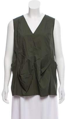 Marni Pleated Sleeveless Top